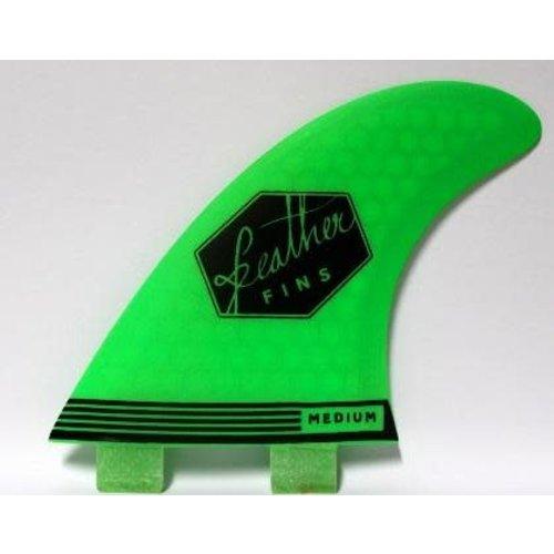 Feather Fins Feather Fins FCS Ultralight Green Thruster Fins