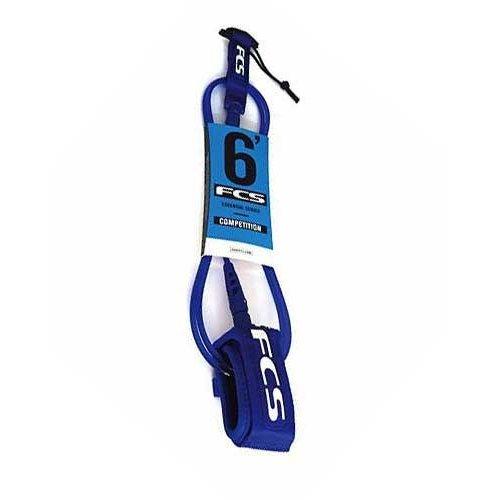 FCS FCS 6ft Premium Comp Ankle Blue Glass Leash
