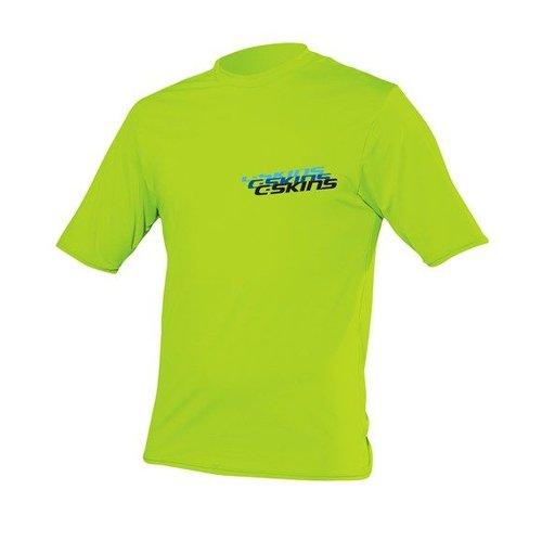 C-Skins C-Skins Kids Lycra Short Sleeve Lime