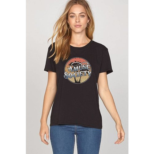 Amuse Amuse Tranquil Waters Black Sands Tee