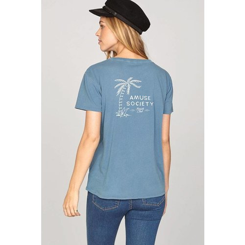Amuse Amuse Tranquil Waters Riviera Blue Tee