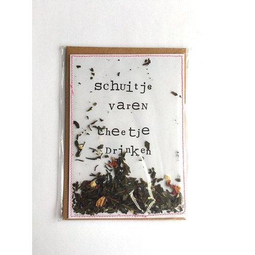 Jet It Flow Jet It Flow Schuitje Varen Theetje Drinken Postkaart