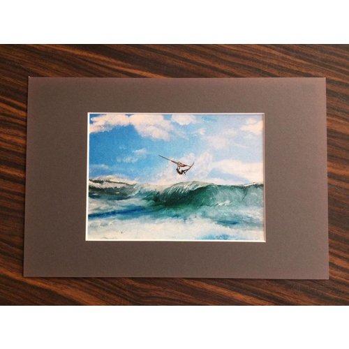 SurfArt SurfArt Windsurfer Print