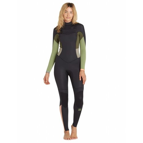 Billabong Billabong 4/3 Dames Synergy Green Tea Wetsuit