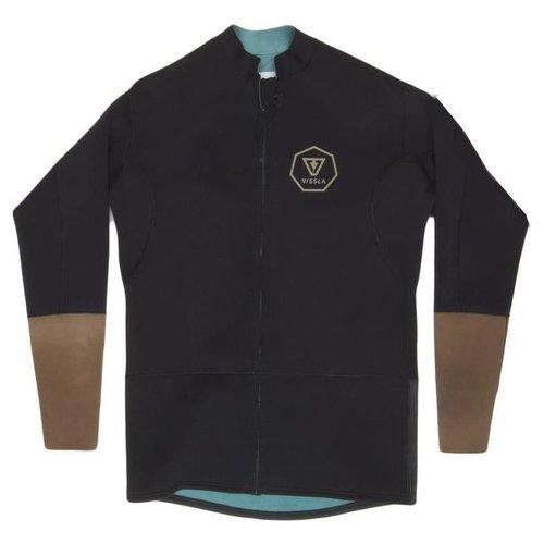 Vissla Vissla 2mm Front Zip Black Jacket