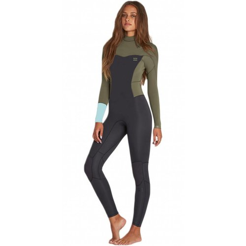 Billabong Billabong 3/2 Dames Synergy Back Zip Wetsuit