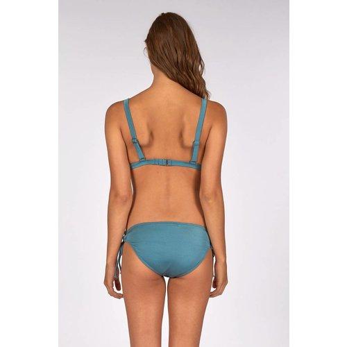 Billabong Billabong Dames Searcher Low Rider Blue Wave Bikini Bottom