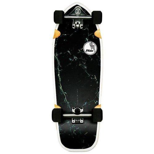"Slide Surf Skateboards Slide Surf Joyful Marble 30"" Skateboard"