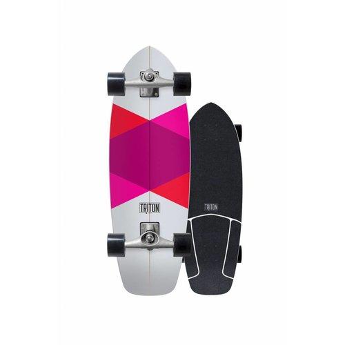 "Triton Skateboards Triton Red Diamond 29"" Skateboard"