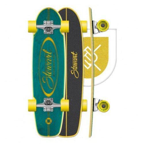 Stewart Surfboards Stewart Teal 28.25'' Skateboard