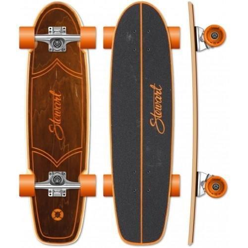 Stewart Surfboards Stewart Bruin 28.25'' Skateboard