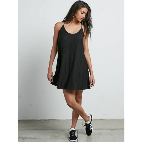 Volcom Volcom Dames Cross Check Black Dress