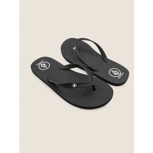 Volcom Volcom Heren Rocker 2 Solid Black Slippers
