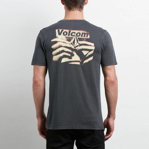 Volcom Volcom Heren Liberate Stone Black Tee