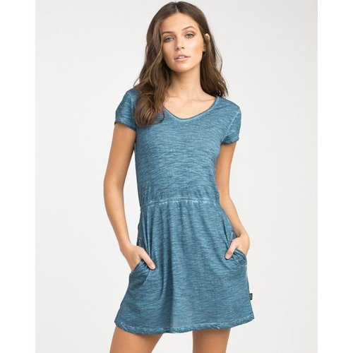 RVCA RVCA Dames Shifter Indigo Dress