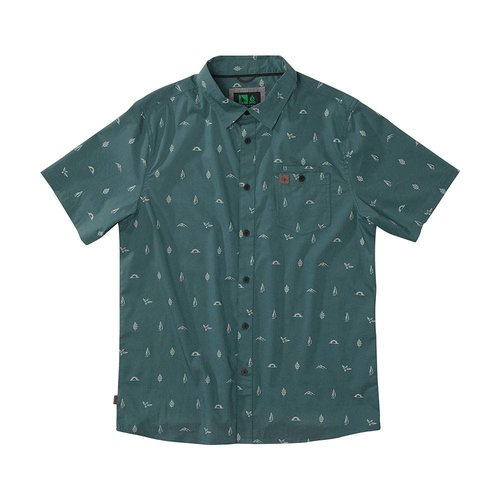 Hippy Tree Hippy Tree Heren Motif Woven Shirt