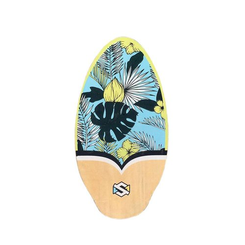 Skim One Skim One Flowa Blue/Yellow 37'' Skimboard