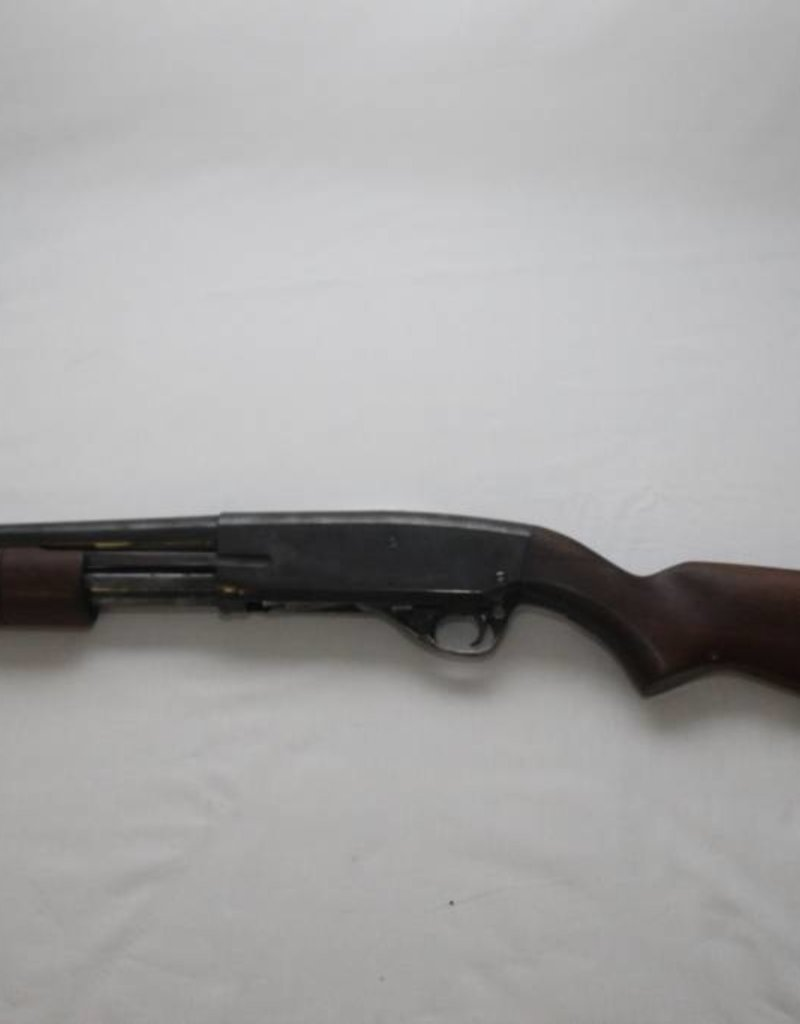 DEACTIVATED STEVENS MODEL 77F PUMP ACTION SHOTGUN UK/EU SPEC