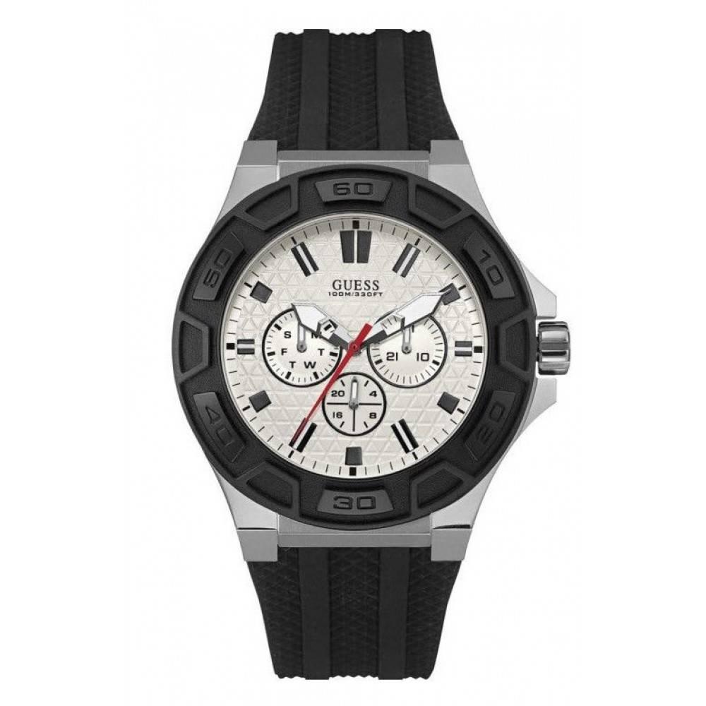 Guess Analoog heren horloge W0674G3