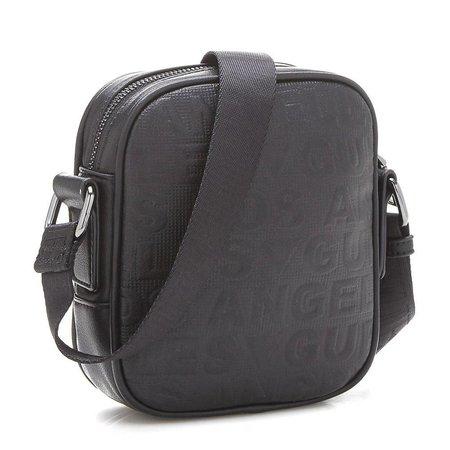 Guess New Boston mini schoudertas zwart HM6109POL73