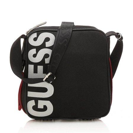Guess Sport Vibes Logo schoudertas zwart HM6286NYL74