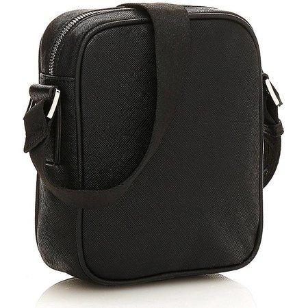 Guess Uptown mini schoudertas zwart HM6229POL74