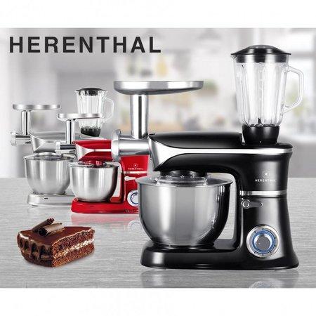 Herenthal Keukenmachine zwart HT-PKM1900.7BG