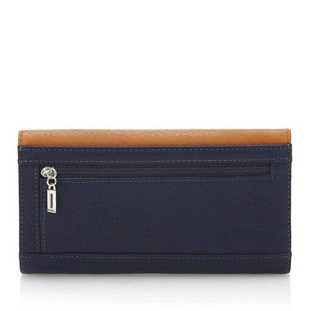 Guess Dinah dames portemonnee met caramel-blauw SWTM6791660