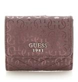 Guess Halley dames logo portemonnee bordeaux SWSG6780440