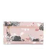 Guess Halley SLG dames portemonnee roze met bloemenprint SWFF6780660