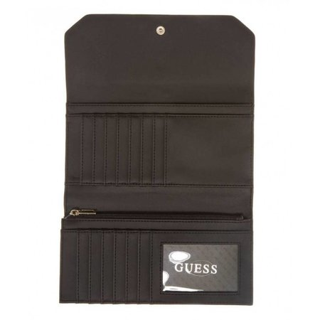 Guess Kinley dames portemonnee zwart SWVN6778660