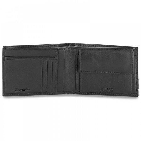 Guess Liam heren portemonnee zwart SM0105LEA20