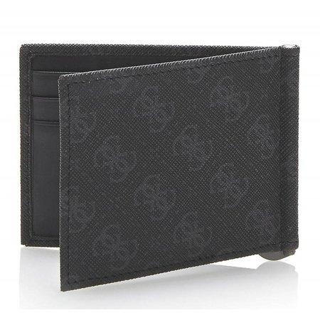 Guess Myself heren creditcard portemonnee zwart SM0817LEA23