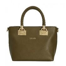 Shopping bag Small Anna pale brown