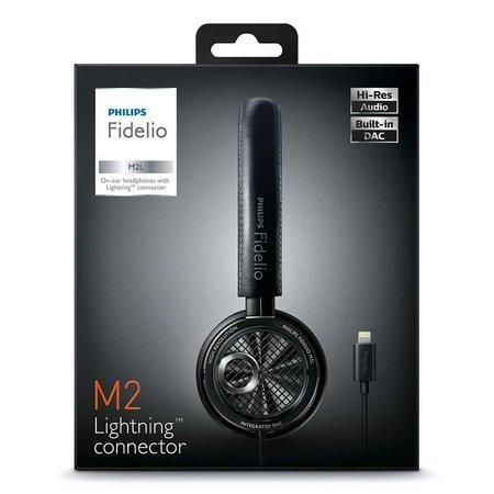 Philips Fidelio High-res koptelefoon met DAC Built-in en Lightning-aansluiting M2L/00
