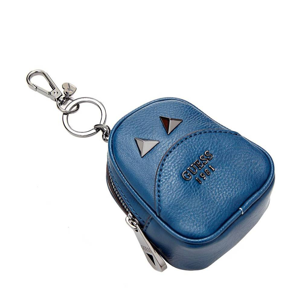 Guess Bradyn Sleutelhanger rugzakje blauw RWB66891020