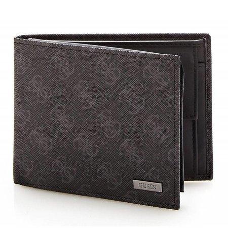 Guess Myself heren portemonnee zwart SM0816LEA24