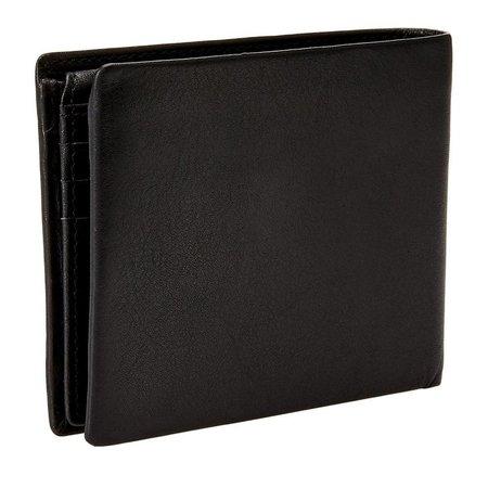 Guess New Boston Bill heren portemonnee zwart SM4015LEA24