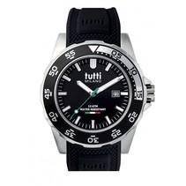 Corallo Horloge zwart