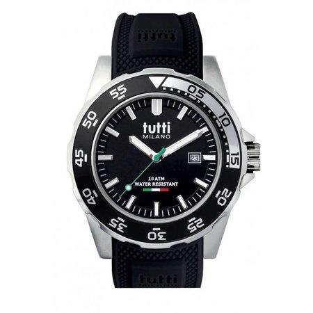 Tutti Milano Corallo Horloge zwart TM900 NO