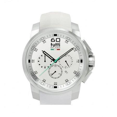 Tutti Milano Masso Chronograaf Horloge wit TM500 ST/WH