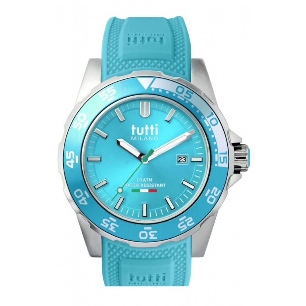 Tutti Milano Corallo Horloge Turquoise TM900 TU