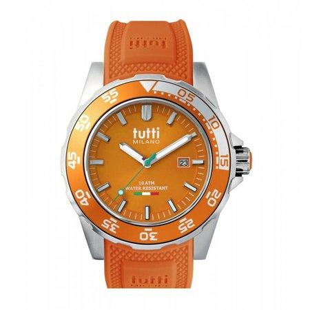 Tutti Milano Corallo Horloge oranje TM900 OR