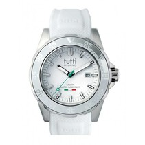 Corallo Horloge wit