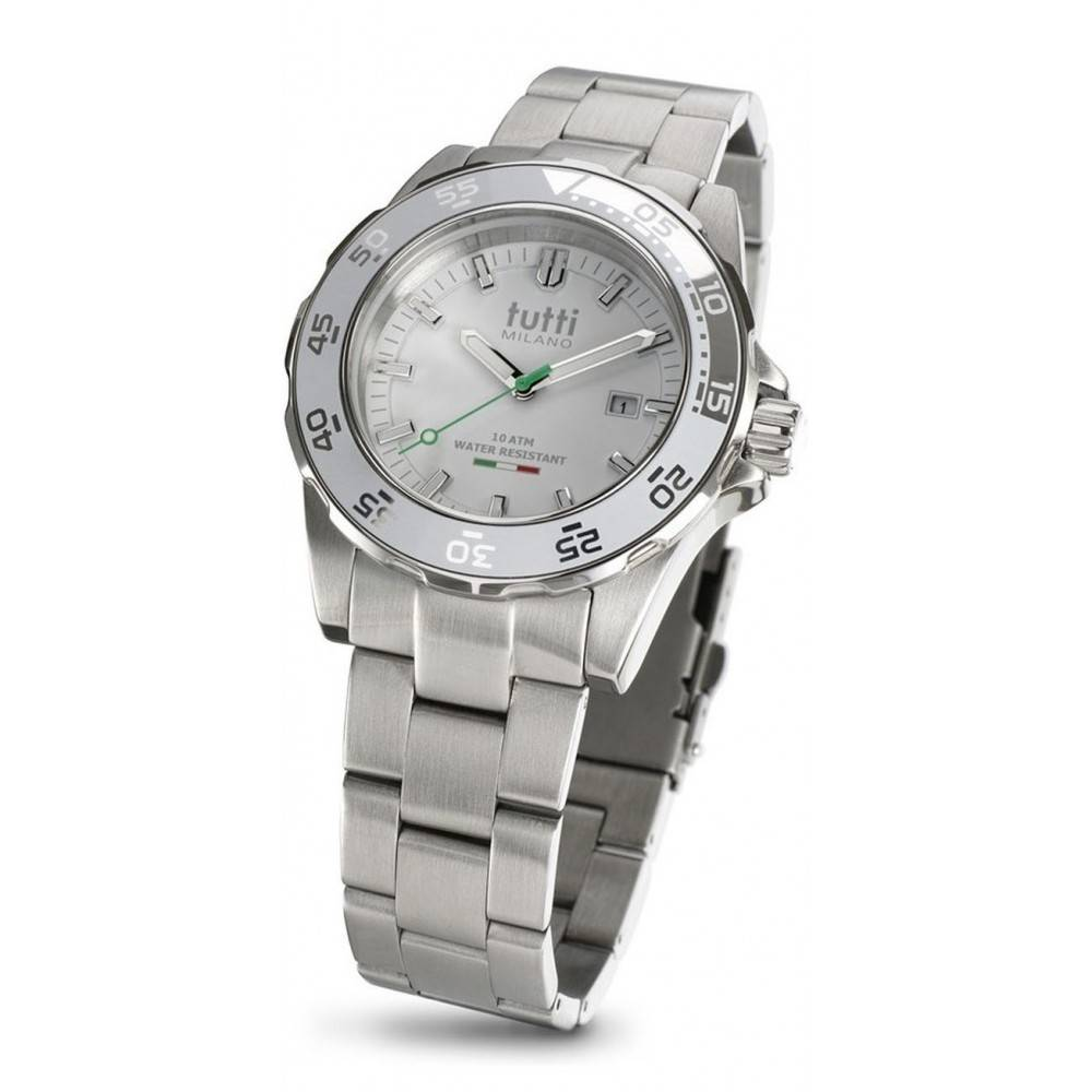 Tutti Milano Corallo Steel Horloge TM900 SWH