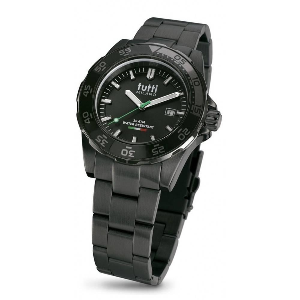 Tutti Milano Corallo Steel Horloge TM900 SNOP