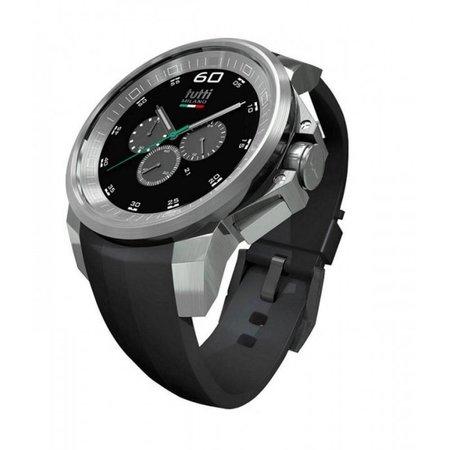 Tutti Milano Masso XL Chronograaf Horloge zwart TM501 ST/NO