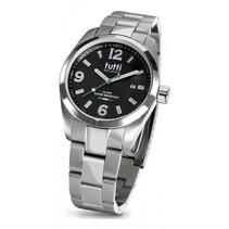 Bacio Horloge zwart