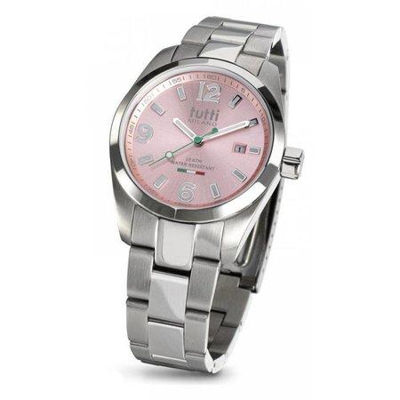 Tutti Milano Bacio Horloge roze TM800 PI