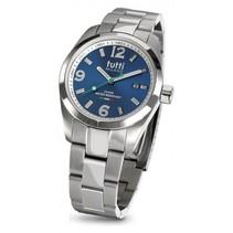 Bacio Horloge blauw